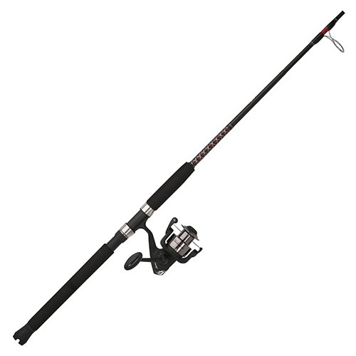 Shakespeare Ugly Stik Bigwater Fishing Rod and Spinning Reel Combo ()