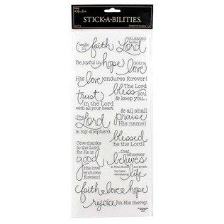Handwritten Religious Stickers