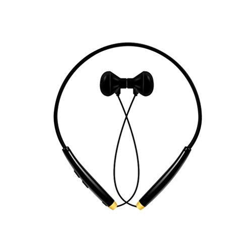 Four Four Wireless Neck Bluetooth Headset Earbuds 4.1 Magnetic Bluetooth Earphones Lightweight Sports Sweatproof in-Ear Earphones