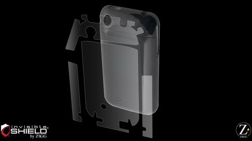 on sale f2ec4 1fa6f InvisibleShield Original for Mophie Juice Pack Air - iPhone 3G - Full Body