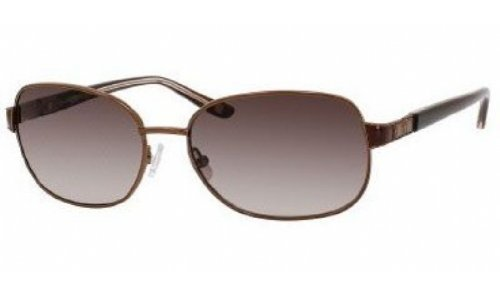 Liz Claiborne L.CLAIBORNE 554/S Sunglasses (065T) Brown, 56 - Sunglasses Liz
