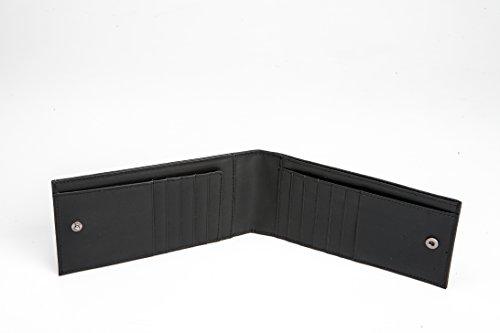 Skin The Calf Slim Wallet Black Alligator Luxurious KAKTUS Genuine Custom or Python Patterned zq6dU