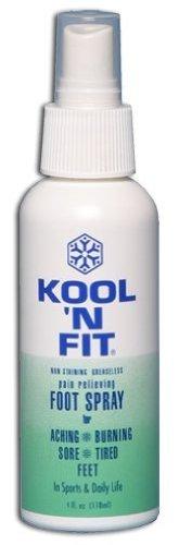 Fit Foot Spray - Kool N' Fit Foot Spray - 4 oz. bottle by Kool Fit