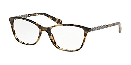Coach Women's HC6121 Eyeglasses Grey Green Tort 53mm
