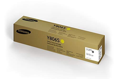 Samsung CLT-Y806S Toner Cartridge, Yellow
