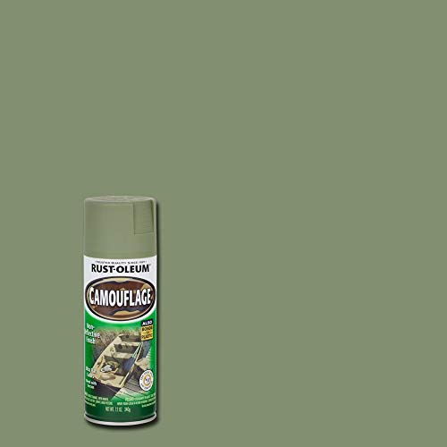 Rust-Oleum 1920830 Camouflage Spray, Army Green, 12-Ounce