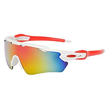 Tenebrose White Sports Men's Sunglasses
