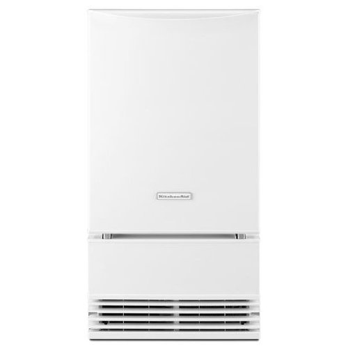 KitchenAid 18 in. 50 lb. Freestanding or Built-In Icemaker with Drain Pump in ()