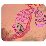 LeonardCustom- Personalized Rectangle Non-Slip Rubber Mousepad Gaming Mouse Pad / Mat- Alice in Wonderland Cheshire Cat (Cat On Alice And Wonderland)