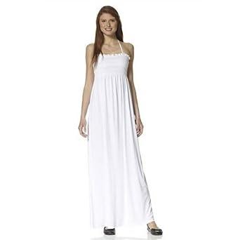 3638 Tropez ;farben MaxikleidWeissGrößen Saint weiß Kleid m CBoexrdW