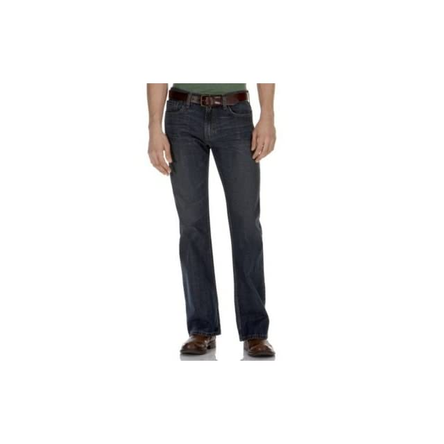 Levis Young Mens Big & Tall 527 Low Rise Boot Cut Jean, Ridge, 44x29