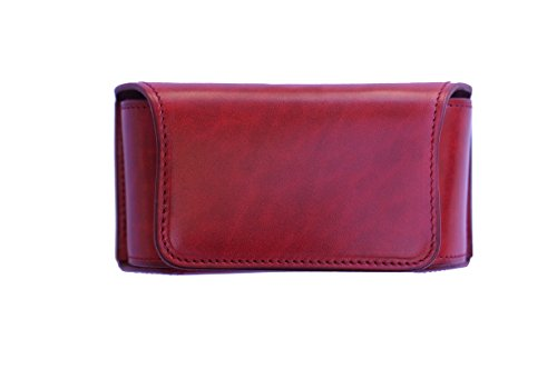 IQOS Heat-No-Burn Cigarette Leather Case (Red) by Third Co. LTD