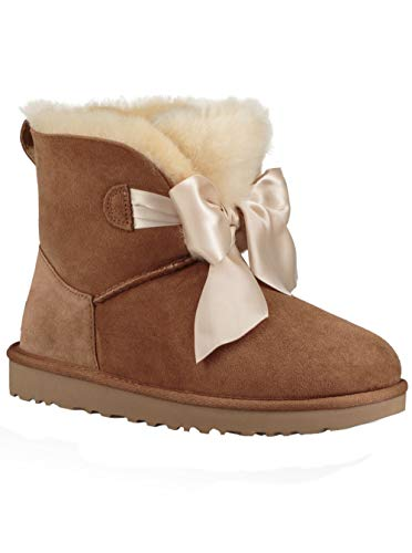 UGG Women's W GITA Bow Mini Fashion Boot, Chestnut, for sale  Delivered anywhere in USA