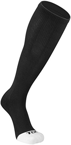 (TCK Prosport Performance Tube Socks (Black, X-Large))