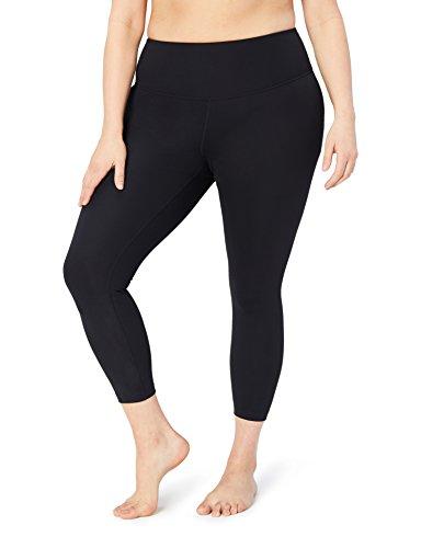 Core 10 Womens Spectrum High Waist Yoga 7/8 Crop Legging -24 (XS-XL, Plus Size 1X-3X)