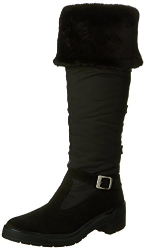 Snow Boot, Black Suede, 37 EU/6-6.5 M US ()