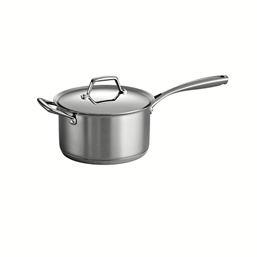 Chefs Stainless Steel Sauce Pan - 8