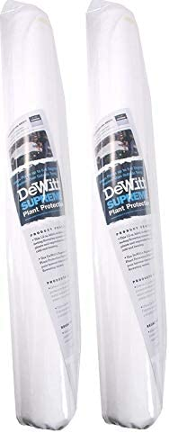 Dewitt Supreme 1.5 oz 6 x 50 Plant Frost Protection Winterization Cloth Freeze Blanket Supreme650 wo ack