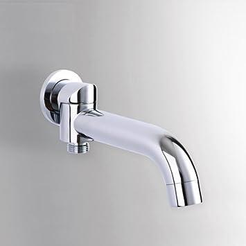 Azos Moderne Wasser Auslauf Mundrohr Anschluss 2 Funktion Wechsler Messing  Chrom Polish In Wand Badezimmer Dusche