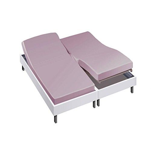 Sábana bajera para cama articulado 2 x 80 x 200 en percal ...