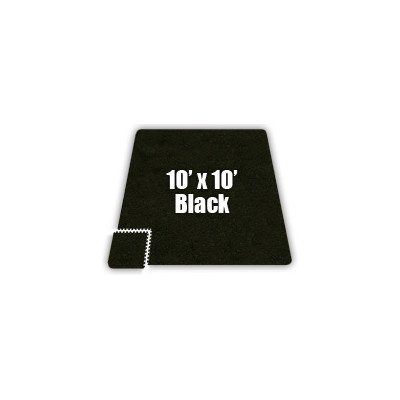 SoftCarpets Set in Black Size: 10′ x 12′