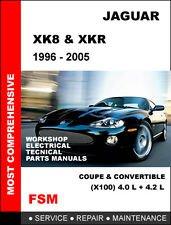 jaguar xk8 1996 2006 workshop repair service manual amazon co uk rh amazon co uk 2003 jaguar xk8 repair manual 2000 jaguar xk8 repair manual