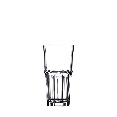 (ARCOROC GRANITY Water/Beverage Highball Glasses Set, 10 1/4 Oz (310 ml), Durable Tempered Glass, Restaurant&Hotel Quality)
