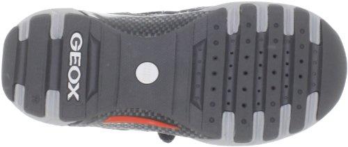 Geox - Zapatillas de Material Sintético para niño negro Black/orange