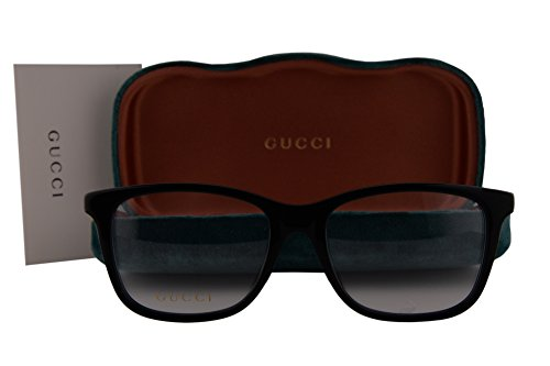 Gucci GG0018O Eyeglasses 54-18-140 Black 005 GG - 56mm Retro Gucci Sunglasses