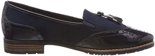 805 Softline 24260 navy Loafers Women''s 21 Blue vwUqwAHW4x