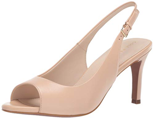 Cole Haan Women's Maya Sling Back Pump, Nude Leather 10.5 B US
