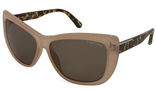Tom Ford Sunglasses - Lindsay / Frame: Pink Tortoise Lens: - Ford Women Tom Clothing
