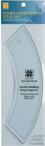 Double Wedding Ring Solid Arc - 0.1'' 1 pcs sku# 1076972MA by Wright's