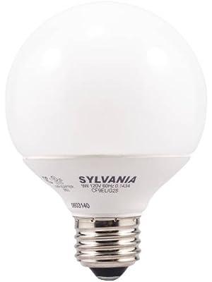 OSRAM SYLVANIA 29414 9W G25 2700K CFL Bulb