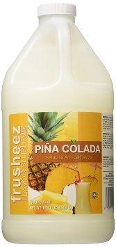 Ready to Use Frusheez Slush Mix - Pina Colada - 1/2 Gallon