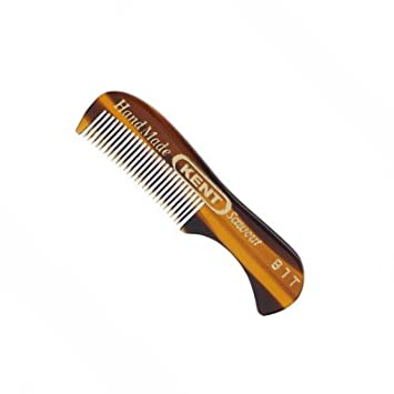 Amazon.com: Peine Kent, peine para bigote de 2.87 pulgadas ...