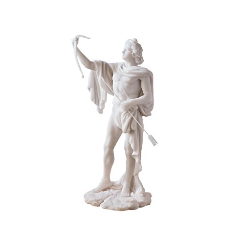 (Design Toscano 11.5 in. Apollo Classical Greek God Statue)