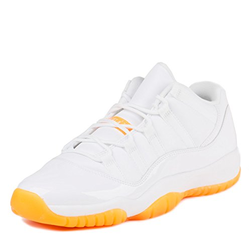Nike Air Jordan Retro 11 low citrus XI gs 580521 139 ( 41 / 8 y / 7 uk )