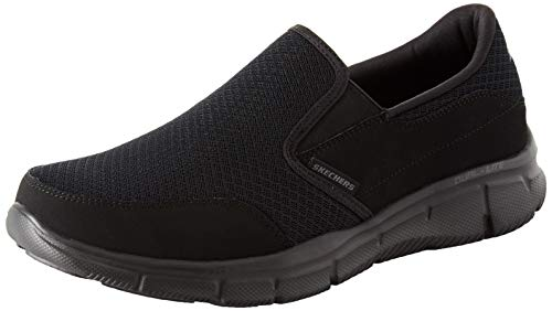 - Skechers Men's Equalizer Persistent Slip-On Sneaker, Black, 11.5 XW US