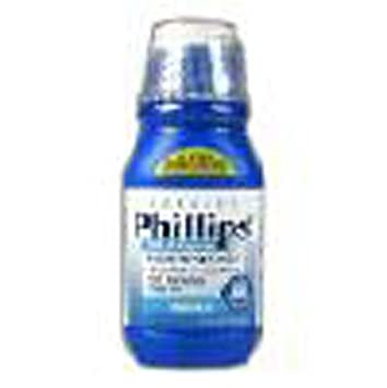 Milk Of Mag Reg Size 12z Phillips Milk Of Magnesia Laxative & Antacid In Original Flavor