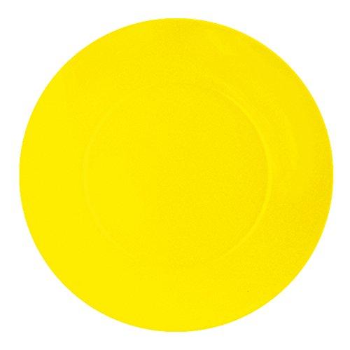 Home Piatto Melamina Giallo Frutta, 20 cm piatti