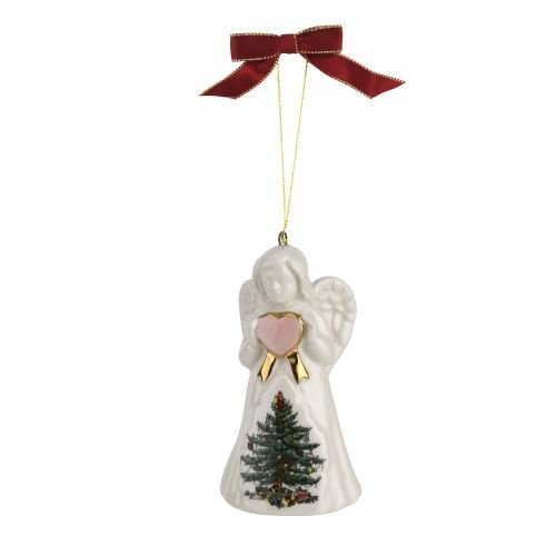 - Spode 1667846 Angel Ornament Green