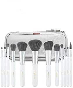 MSQ 12 PCS COSMETIC MAKEUP BRUSH MAKE UP BRUSHES SET TOOL KIT WITH POUCH CASE