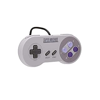 Official Nintendo Super Nintendo Controller (SNES) Super NES Classic Edition Wired Controller SNES – CLV-202 (Bulk Packaging)