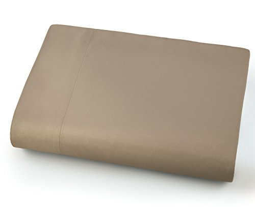 (Southshore Fine Linens - Oversized Flat Sheets Extra Large - 132 Inches x 110 Inches (Taupe))