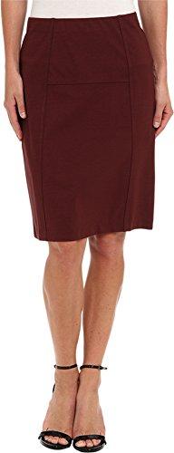 NIC+ZOE Women's New Ponte Flirt Skirt Cognac Skirt XS (US 0-2)