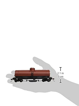 Bachmann Track Cleaning Car Unlettered Oxide HO 16303