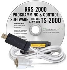 KRS-2000 USB Cable & RT Systems Software TS-2000