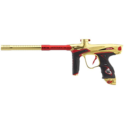 Amazon.com : Dye DM15 Paintball Marker - Gold / Red : Sports & Outdoors