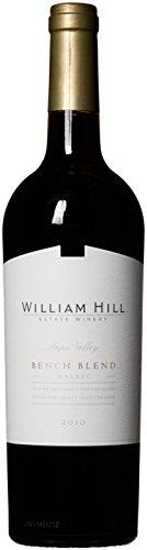 2010 William Hill Estate Bench Blend Malbec Amazon Exclusive Red Wine 750mL